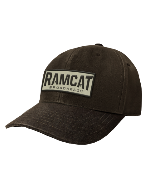 Ramcat Hat - Waxed Canvas - One Size Fits Most