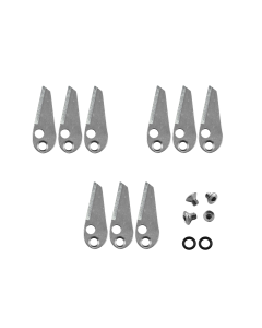 Ramcat Single Bevel Grind Replacement Blades (100gr)