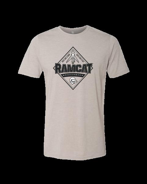 Ramcat Heathered Tee - Gray