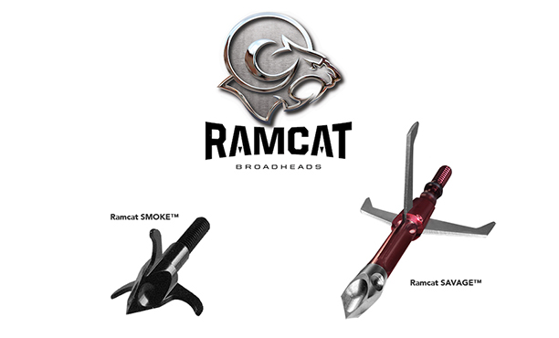 Ramcat Introduces the Savage Mechanical Broadhead and Smoke Small Game Head